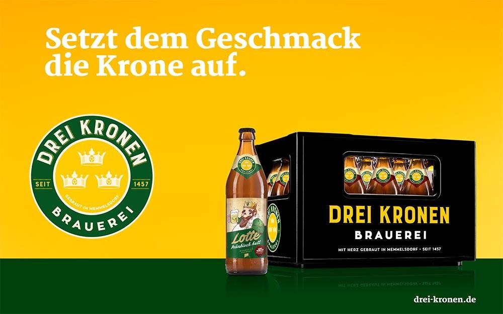 Fränkisches Bier online kaufen - Brauerei Drei Kronen