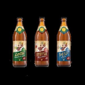 Handwerklich gebrautes Fränkisches Bier online bestellen -Bier Päckla von Brauerei Drei Kronen in Oberfranken