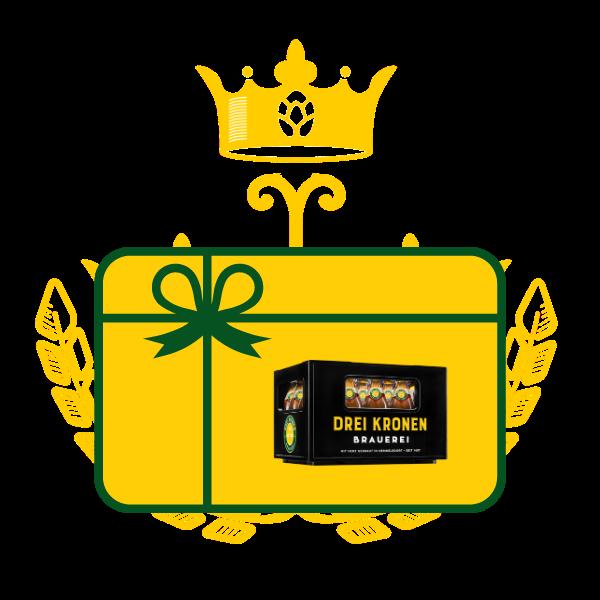 Bier aus Franken online kaufen - Geschenkkarte