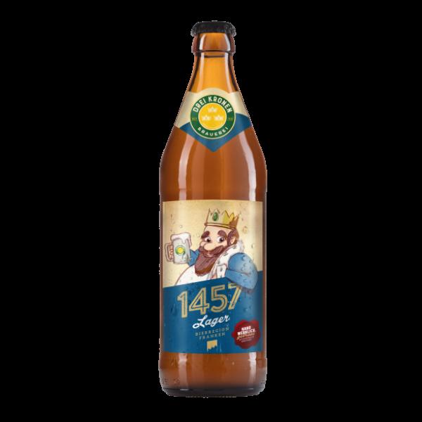 Handwerklich gebrautes Fränkisches Hausbier 1457 Lager - Bier aus Franken online kaufen