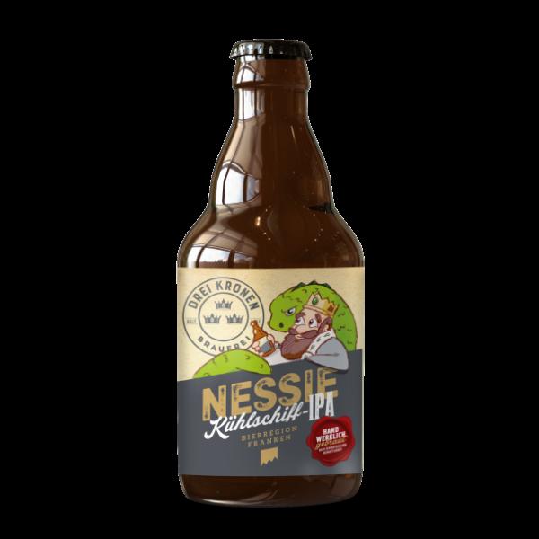 Handwerklich gebrautes Bier Nessie - Kühlschiff IPA - Fränkisches Flaschenbier