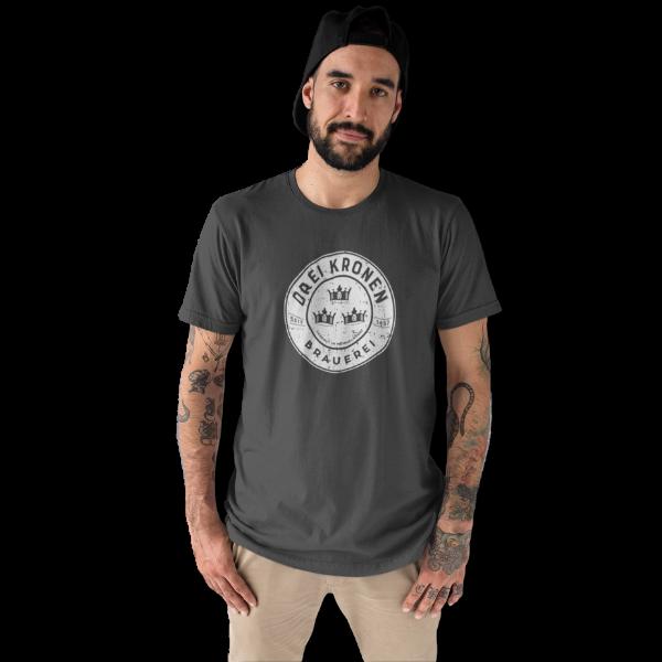"""Fan-Shirt mit der Aufschrift """"Brauerei Drei Kronen"""""""