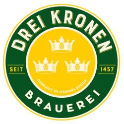 """Brauerei """"Drei Kronen"""" in Franken - Logo"""